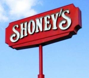 shoneys-sign